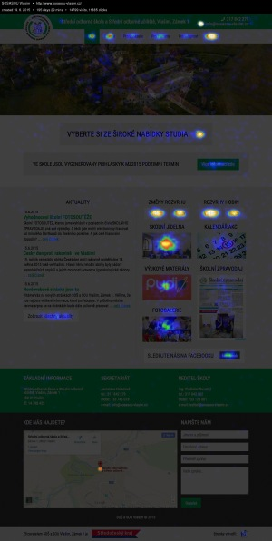 Užitečný měřící nástroj CrazyEgg – Heatmapa