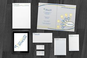 Ukázka návrhu firemní identity pro MSZ Benešov
