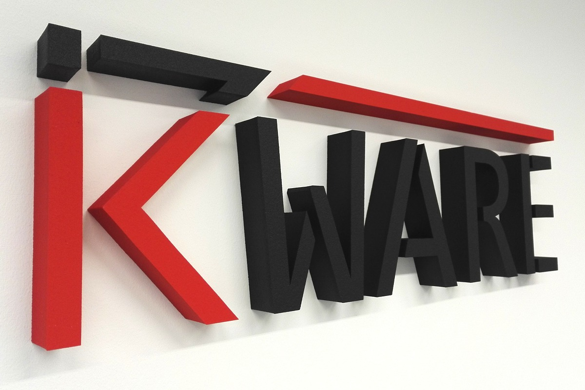 3D logo pro firmu kWare
