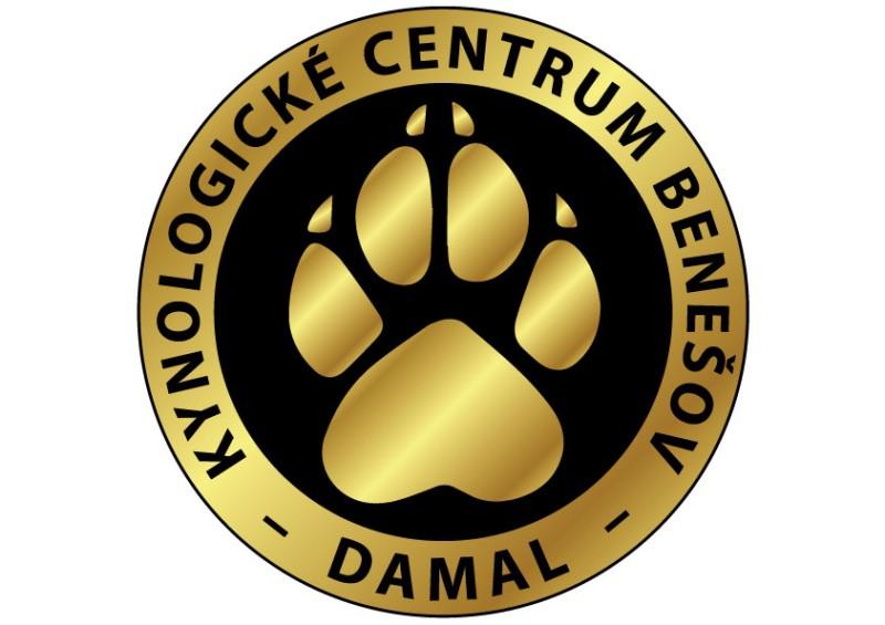 Logo kynologického centra DAMAL v Benešově
