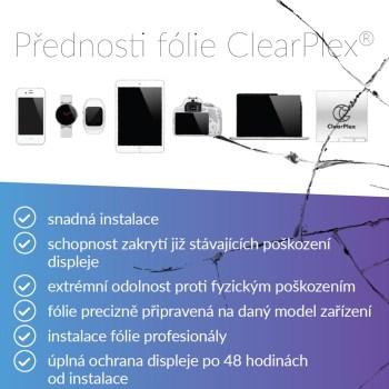 Náhled nového letáku k webovým stránkám pro ochrannou fólii ClearPles