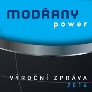 Výroční zpráva za rok 2014 pro MODŘANY Power