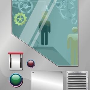 Grafika použitá v procesu firmy ADASTRA