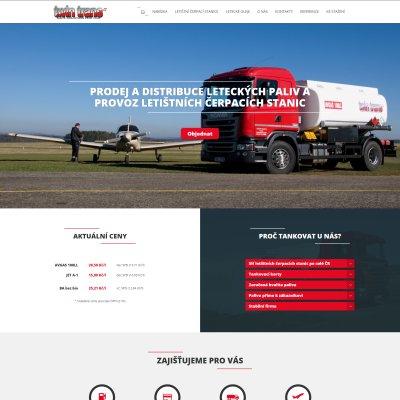 Náhled webových stránek pro TWINTRANS